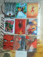 X-Men Fleer Ultra 1994 1992 and 1993 Marvel Masterpieces Set of 18 Cards List #8