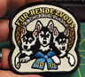 New Alaska iron on embroidered patch - Fur Rondy - Fur Rendezvous 2018 puppies !