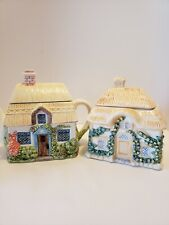 Cottage Teapot Phillipines Cottage Sugar Bowl Teleflora Thailand