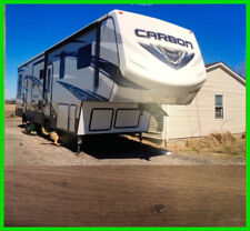2017 Keystone Carbon 347 Toy Hauler Sleeps 8 38' Bunk 2 A/Cs Gas Station