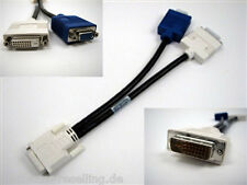 Dell DVI-i   dual lINK to DVI & VGA Dual Monitor Splitter Y Cable Adapter