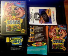 SEGA GENESIS GENERAL CHAOS CIB WITH PROMOTIONAL MATERIALS IN EXCELLENT CONDITION