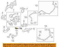 Cadillac GM OEM 10-11 SRX Turbocharger Turbo-Oil Inlet Tube Gasket 12598447