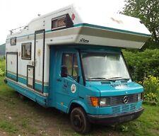 Niesmann & Bischoff Clou wohnmobil Mercedes 410 D garage AHk Oldtimer Youngtimer