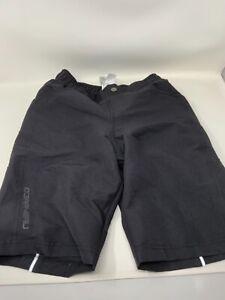 Garneau Range 2 Junior Bike Shorts-Kids Size US 10 Girls New No Tags Blue Chamoi