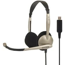 KOSS CS100 USB On-Ear, Over-the-Head Stereophone Headset  (178188)