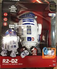 "Star Wars The Force Awakens R2-D2 Interactive Droid 16"" Robot Thinkway Toys R Us"