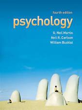(Good)-Psychology (Paperback)-Carlson, Neil R., Buskist, William, Martin, Dr G.