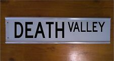 DEATH VALLEY STREET SIGN ROAD BAR SIGN FUNNY CHRISTMAS GIFT