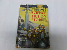 Vtg Retro Atomic Era Display Book Teenage Science Fiction Stories Richard Elam