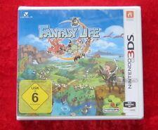 Fantasy Life, Nintendo 3D 3DS Spiel, Neu, deutsche Version