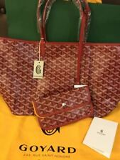 GOYARD Authentic Saint Louis PM Coated canvas Tote bag Rouge Red New Unused