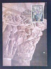 SPAIN MK 1973 NAVIDAD WEIHNACHTEN CHRISTMAS MAXIMUMKARTE MAXIMUM CARD MC c9325