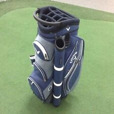 Callaway FORRESTER 2.0 Deluxe Cart Bag - LOADED WITH FEATURES - Navy/White