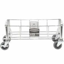 Rubbermaid 1968468 Stainless Steel Wire Slim Jim Dolly for Slim Jim Containers