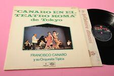 LP FRANCISO CANARO EN EL TEATRO KOMA DE TOKYO ORIG 1971 EX
