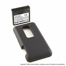 NEW 3500mAh extended battery HTC Evo 3D + Back Cover