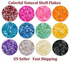 4g 3D Nail Art Sea Shell Flake Mermaid Abalone Sequins Powder Glitter Decoration