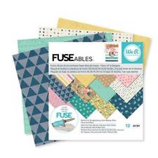 WE R MEMORY KEEPERS FUSEables  6x6 Plastic Paper Pack  660861