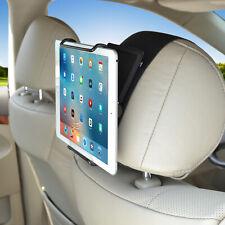 Tablets Holder Car Headrest Mount with Angel Adjustable for 6-12.9 Inch i Pad
