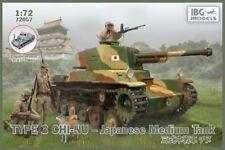 1/72 IBG 72057 Type 3 Chi-Nu Japanese Medium Tank