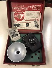 Vintage Ansco Readyflash Camera Outfit And Case
