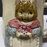 Otagiri 3D Kitty Cat Coffee Mug Tea Cup Vintage Made in Japan