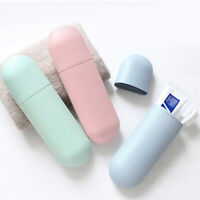 Toothbrush Case Hiking Storage Box Travel Cover Toothpaste Organizer Holder JE