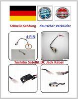 DC Power Jack Kabel Toshiba Strom-Lade-Netzteil Buchse L50-B L50D-B L50T-B NEU
