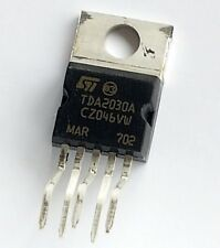 TDA2030A single chip monolithic IC class AB amplifier –ref:695