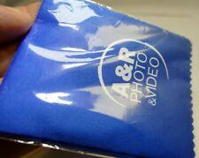 Limpieza de Lentes Pañuelos Paño Azul Microfibra A&R