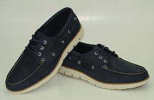 Timberland Bradstreet 3-Eye Boat Shoes Sensorflex Men Low Shoes A1HCX