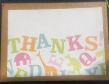 Set Of 47 Gartner Baby Thank You Cards Blank Inside