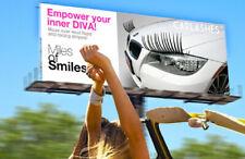 CarLashes® - COMPLETE SET - BLACK car eyelashes with DIAMOND Rhinestone Eyeilner