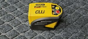 STANLEY FAT MAX CLLI AUTOMATIC SELF LEVELING CROSS LINE LASER LEVEL 3 MODES