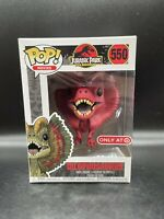 Funko Pop, Dilophosaurus #550 (Jurassic Park) Target Red Card Exclusive New!