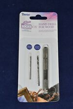 Darice Hand Drill For Wood with .0585in & .0755in Bits