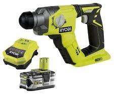 RYOBI R18SDS Akku-Bohrhammer SDS-plus RBC18L50 Akku 5.0Ah + Ladegerat ONE + NEU
