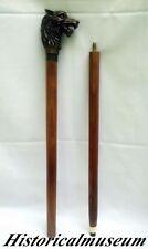 Mafia Style Walking Cane - Brass Handle Walk Stick - Maritime Designer Gift Item