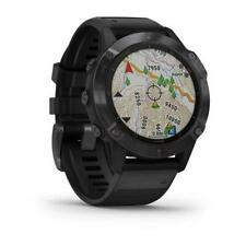 Garmin fēnix 6 Pro Black Stainless Steel Men's Smartwatch - 010-02158-02