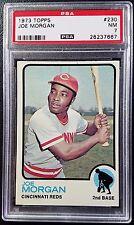 1973 Topps #230 Joe Morgan PSA 7 NM Near Mint Cincinnati Reds MLB Baseball HOF
