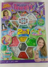 FASHION JEWELRY BEAD KIT SET AGES 6+ DESIGN WITH FRIENDS CHILDREN KIDS GIRLS