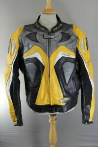 """RICHA 'AIR FORCE' LEATHER BIKER JACKET WITH BACK, SHOULDER & ELBOW CE ARMOUR 50"""""""