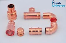15mm Solder Ring Fittings Straight, Elbow, Tee, Stop end, Reducer Brass Fittings