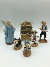 "Walt Disney Classics Collection WDCC ""Pinocchio"" 6-PC Ornament Set w/ COA #2768"