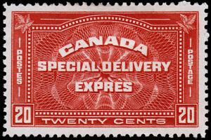 Canada Scott E4 (1930) Mint LH VF, CV $65.00 M