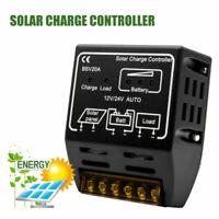 20A NERO Controller Regolatore Di Carica del Batteria pannello solare Protezione