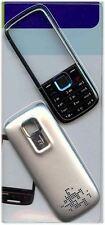 NUOVO!! Argento Alloggiamento / FASCIA / Coperchio / Custodia per Nokia 5130 XpressMusic