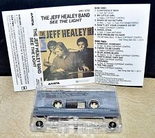 THE JEFF HEALEY BAND      - SEE THE LIGHT -                       Music Cassette
