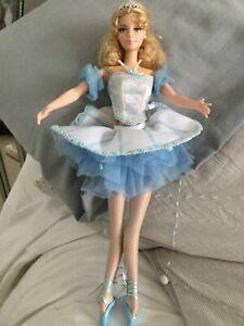 Barbie nutcracker snowflake ballerina princess